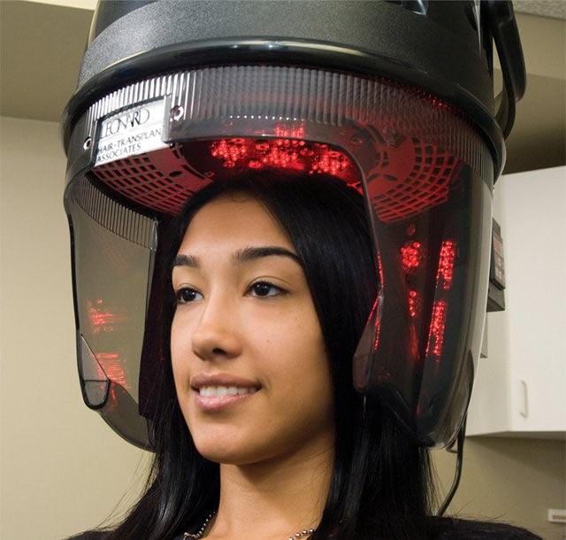 درمان ریزش مو با لیزر